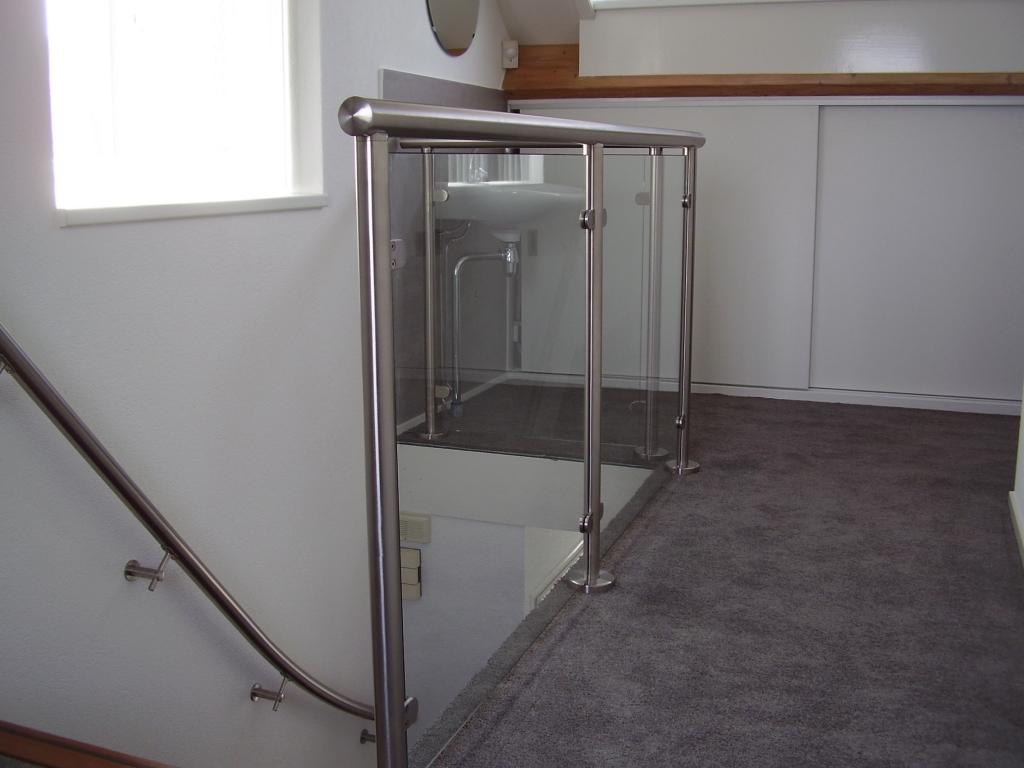 RVS trapleuning en balustrade