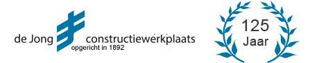 De Jong Constructiewerkplaats Logo