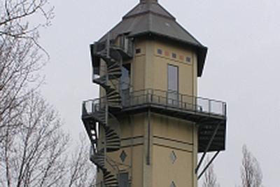 Bordessen - Dordrecht: Staalconstructies t.b.v. vloeren, inwendig trappenhuis, uitwendige spiltrap en bordesconstructie watertoren Dubbeldam