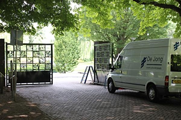 Toegangspoort - Dordrecht: Renovatie toegangspoort en hekwerken Wantijpark te Dordrecht