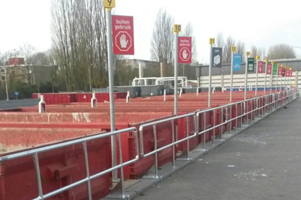 Hekwerk - Dordrecht: Leuningen ABS Dordrecht.